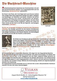 Die Geschichte der Druckmaschine